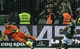 Rémy Cabella a vu son penalty être repoussé pour Alphonse Areola.