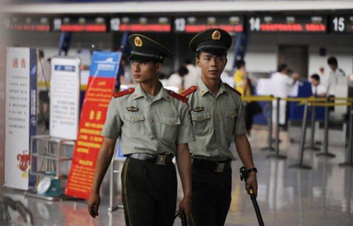 Un avion reliant deux villes du Xinjiang (nord-ouest) a fait l'objet d'une tentative de détournement vendredi de la part de six pirates appartenant à la minorité ouïghoure, a annoncé un porte-parole du gouvernement régional. – Peter Parks afp.com