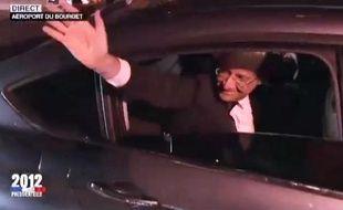Capture d'écran du zapping de la soirée du second tour de la présidentielle, le 6 mai 2012.