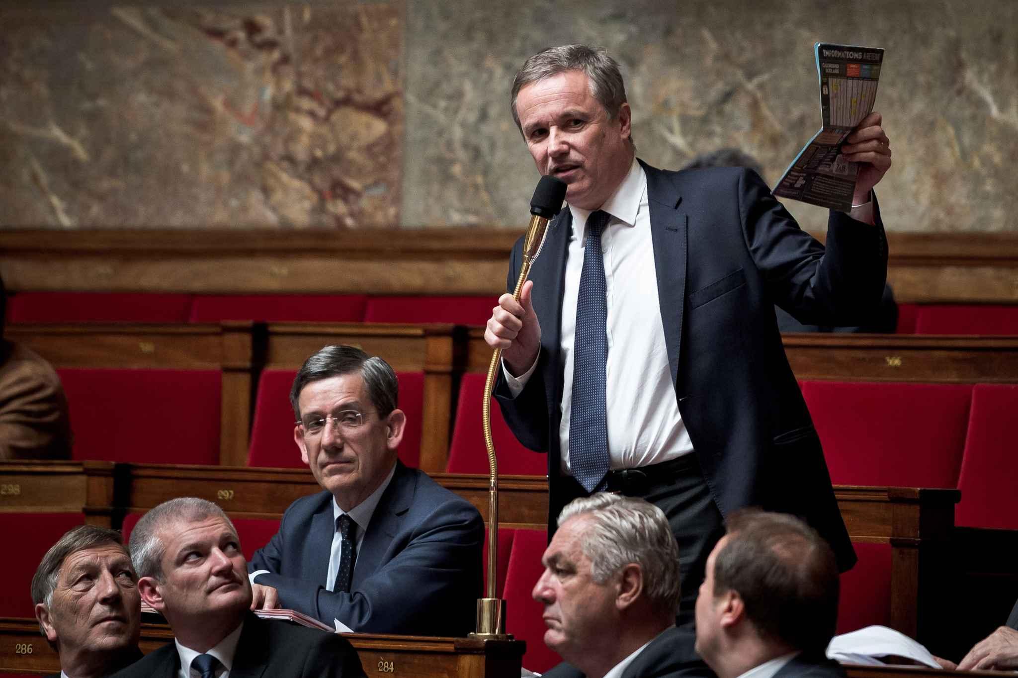 Législatives. Dupont-Aignant appelle à faire barrage au gouvernement
