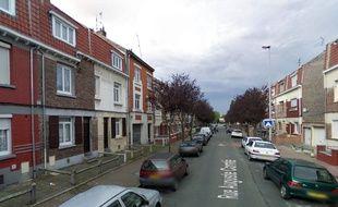 La rue Auguste-Comté, à Lille.