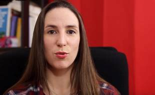 Capture d'écran du témoignage de Sophie Tissier sur la chaîne YouTube «On vaut mieux que ça!».