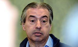 Le jardinier Jean-Louis Cayrou lors de son procès à Rodez le 23 juillet 2016. Il a été condamné à 30 ans de prison pour le meurtre de Patricia Wilson.