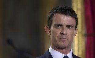 le Premier Ministre Manuel Valls le 16 avril 2015.