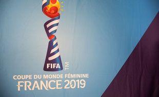 Le logo de la Coupe du monde 2019.