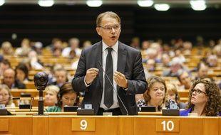 Le député belge Philippe Lamberts, en mars 2018 à Bruxelles.