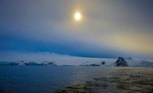 L'Antarctique le 13 mars 2014