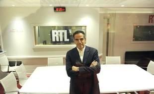 Christopher Baldelli, président du directoire de RTL, dans les locaux de la station en 2010.