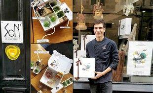 Le chef bordelais Sylvain Renzetti propose une box pour déguster des plats gastronomiques chez soi, pendant le confinement.