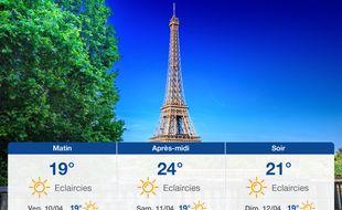 Météo Paris: Prévisions du jeudi 9 avril 2020