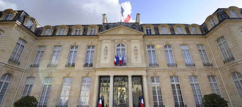 A picture taken on May 16, 2012 shows a general view of the Elysee presidential palace in Paris. French General Secretary of the Elysee Palace, Pierre-Rene Lemas announced the new government of French Prime Minister Jean-Marc Ayrault earlier today in the courtyard of the Elysee presidential palace in Paris.