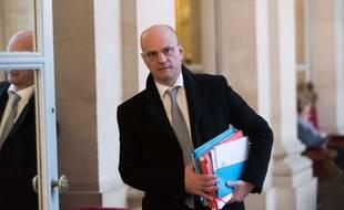 Jean-Michel Blanquer à l'Assemblée Paris, FRANCE-06/12/2017. Credit:Jacques Witt / Sipa/SIPA.