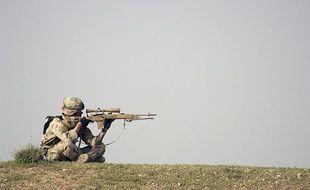 Un sniper américain (illustration).