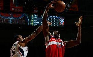 Kevin Séraphin a réalisé mercredi en NBA un beau double double mais il n'a pas pu éviter à Washington d'encaisser à Atlanta sa dixième défaite en dix matches cette saison (101-100)