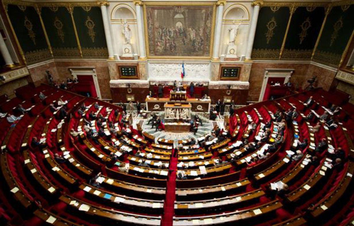Une vue générale de l'hémicycle de l'Assemblée nationale. – A. GELEBART / 20 MINUTES