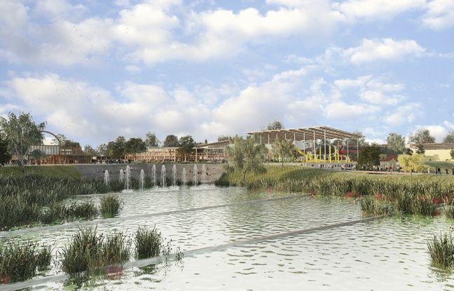 Le parc d'attractions Imagiland sera construit sur le site de l'ancienne carrière Lafarge à La Couronne.
