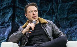 Elon Musk à la conférence «SXSW» à Austin, le 11 mars 2018.
