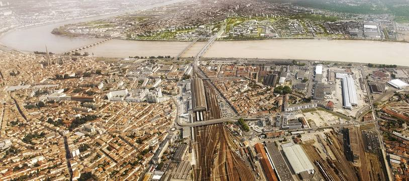 La ZAC Garonne-Eiffel sur la rive droite de Bordeaux, dans le périmètre Euratlantique.