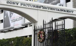 L'entrée des studios de Sony Pictures à Culver City, en Californie, le 17 décembre 2014
