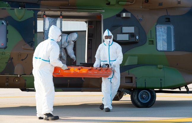 Coronavirus: 18 nouveaux transferts de malades du Grand-Est vers l'Occitanie