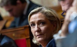 Marine Le Pen à l'Assemblée nationale, le 13 novembre 2018.