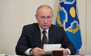 Vladimir Poutine le 16 septembre 2021.
