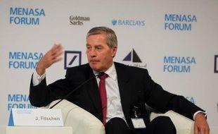 Le patron de la Deutsche Bank, Jürgen Fitschen, a estimé que la politique de taux d'intérêt très faibles menée par la Banque centrale européenne (BCE) n'était pas saine, dans un entretien au journal dominical Frankfurter Allgemeine Sonntagszeitung.