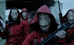 Le masque de Dali fait parti de la panoplie des héros de «La Casa de Papel».