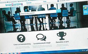 La plateforme Brainztorming.fr.