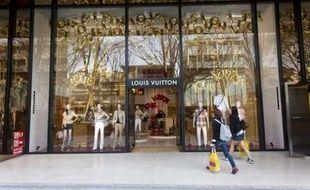 Un magasin Louis Vuitton en Tokyo (Japon) en 2010.