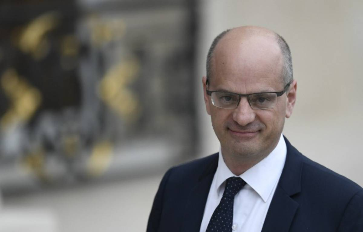 Le ministre de l'Education Jean-Michel Blanquer – STEPHANE DE SAKUTIN / AFP