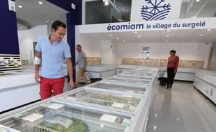 Damien de Bodman, gérant du magasin Ecomiam de Rennes, qui ouvre le 28 septembre 2018 aux Longs Champs.