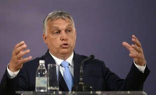 Viktor Orban, le 8 juillet 2021.