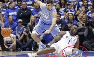 L'image de l'équipementier sportif Nike est affectée après la blessure spectaculaire de Zion Williamson, la future star de la NBA, dont la chaussure de sport s'est déchirée lors d'un match universitaire.