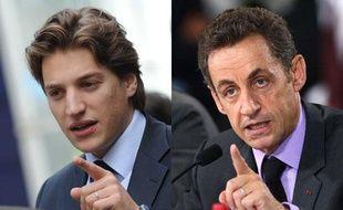 Jean et Nicolas Sarkozy, les ressemblances dans leur gestuelle.