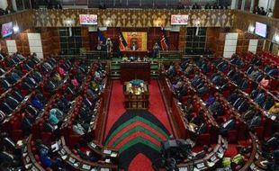 Vue générale du Parlement kenyan à Nairobi, le 26 mars 2015