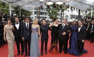 Le jury le 24 mai à Cannes