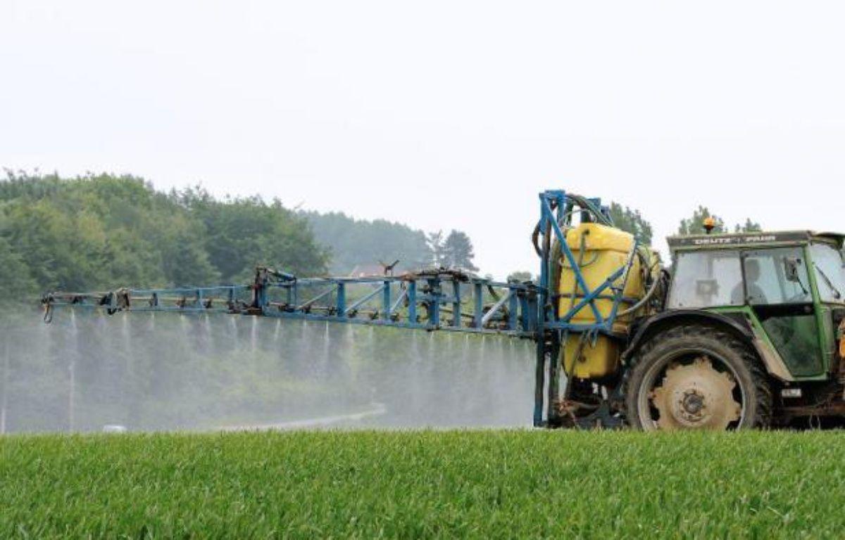 Un agriculteur répand des pesticides sur un champ (illustration) – Philippe Huguen AFP