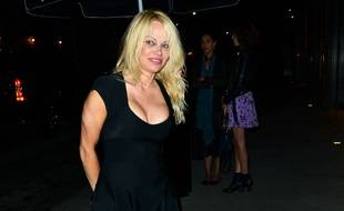 Pamela Anderson le 9 juin 2017 à Los Angeles