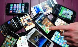 Photo d'illustration de téléphones portables