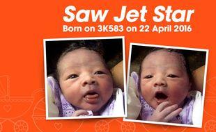 Saw Jet Star, le bébé aérien.