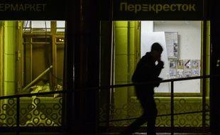Au moins dix personnes ont été blessées ce mercredi 27 décembre 2017 lorsd'une explosion survenue dans un supermarché de Saint-Pétersbourg.