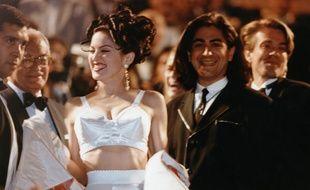 Madonna au Festival de Cannes, en 1991.