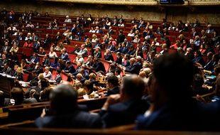 Vue de l'Assemblée nationale le 17 septembre 2019.