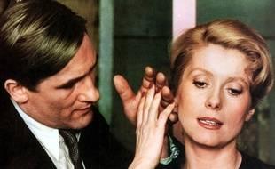 Gérard Depardieu et Catherine Deneuve dans Le Dernier métro.