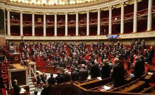 L'Assemblée nationale le 19 novembre 2015 à Paris