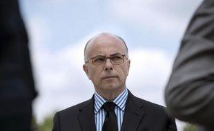 Le ministre français de l'Intérieur Bernard Cazeneuve assiste au quarantième anniversaire du GIGN, à Satory, le 25 juin 2014