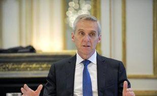 Le patron d'Elior, Gilles Petit, le 16 avril 2014 à Paris