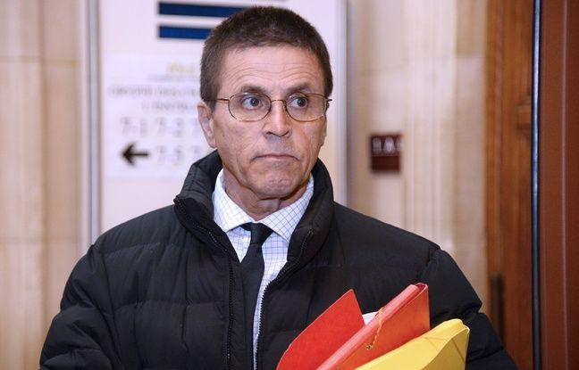 Hassan Diab, principal suspect de l'attentat de la rue Copernic, le 24 mai 2016 à Paris.