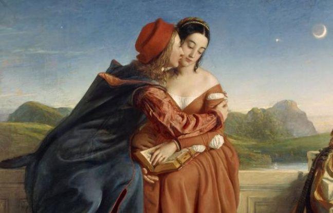 William Dyce, Francesca da Rimini, huile sur toile, 1837, National Gallery of Scotland, Édimbourg